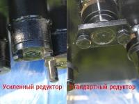 Редуктор электрокультиватора ЛопЛош усиленный